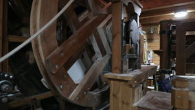 Watermill εσωτερικό, Όσιγιεκ Κροατία Στοκ εικόνες με δικαίωμα ελεύθερης χρήσης