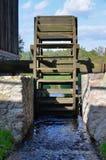 Watermill в под открытым небом музее в Olsztynek (Польша) Стоковое Изображение RF