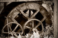watermill Royaltyfria Bilder