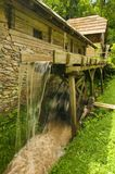Watermill. Old wooden watermill for producing flavor running in koroska region in slovenia Stock Photography