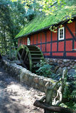 Watermill. An old  watermill in the forest Stock Photography