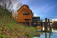 Watermill. A watermill in the countryside Slovakia stock photos