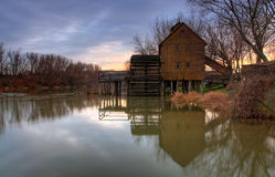 Watermill. A watermill in the countryside Slovakia stock photo