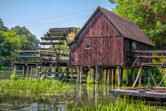 watermill Fotos de Stock Royalty Free
