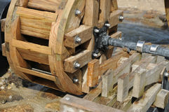 Ρόδα Watermill Στοκ φωτογραφίες με δικαίωμα ελεύθερης χρήσης