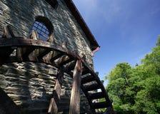 watermill ρόδα Στοκ Φωτογραφίες