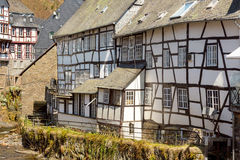 Watermill in ancient Monchau Stock Photography