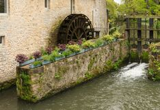 Watermill Bayeux Stock Image