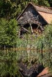 watermill Bokrijk Belgien Royaltyfri Foto