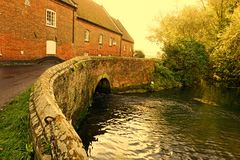 Watermill Burnham overy Royalty Free Stock Photography