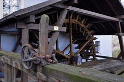 Watermill on Certovka in Prague Royalty Free Stock Photography