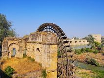 Watermill in Cordoba, Spain Royalty Free Stock Photos