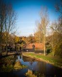 Watermill de Kollen en los Países Bajos fotos de archivo libres de regalías