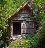 Watermill de Rudaria, Caras-Severin, Rumania Fotos de archivo