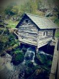 Watermill en uppsättning av naturen av skönhet och fördelar Royaltyfria Foton