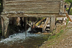 Watermill From Rudaria, Caras-Severin, Romania