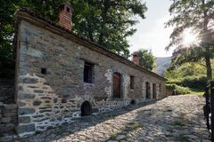 Watermill in Greece royalty free stock photo