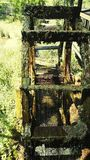 Watermill hjul Royaltyfri Fotografi