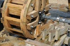 Watermill hjul Royaltyfria Foton