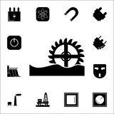 Watermill  icon. Set of energy icons. Premium quality graphic design icons. Signs and symbols collection icons for websites,. Web design, mobile app on white Stock Photography