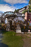 Watermill in Lijiang, Yunnan, China.It is the Lijiang old town s Royalty Free Stock Photography