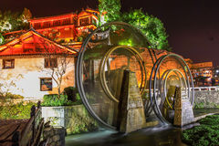 Watermill in Lijiang Stock Photo