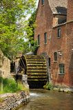 Watermill, Lower Slaughter. Royalty Free Stock Images