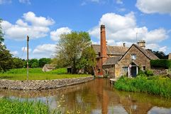 Watermill, Lower Slaughter. Stock Photography