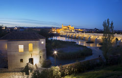Watermill and Mosque, Cordoba Royalty Free Stock Photography