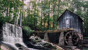 Watermill. At North Georgia, USA Stock Photos