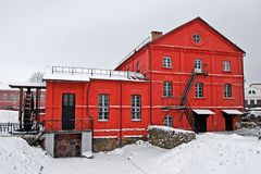 Watermill in Orsha Stock Afbeeldingen