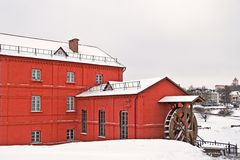 Watermill in Orsha. Orsha. Belarus. Watermill built in begin of 20th century Stock Image