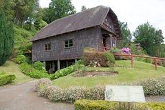 Watermill på det tyska museet på Frutillar, Chile Royaltyfria Foton
