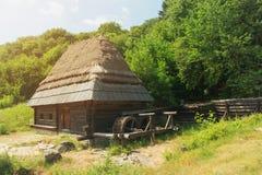 Watermill from Pirogovo, Kyiv, Ukraine. Watermill from the museum Pirogovo, Kyiv, Ukraine Stock Photography