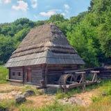 Watermill from Pirogovo, Kyiv, Ukraine. Watermill from the museum Pirogovo, Kyiv, Ukraine Royalty Free Stock Photography