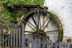 Watermill in Polperro Lizenzfreies Stockfoto