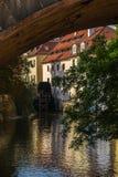 Watermill, Praga, Charles Bridge Imagens de Stock Royalty Free