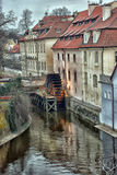 Watermill in Prague Stock Images