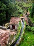 Watermill, Ribeira Dos Caldeiroes, São Miguel, Azores Royalty Free Stock Photos