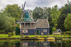 Watermill on the River Stock Image