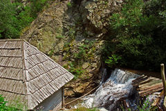 Watermill from Rudaria, Caras-Severin, Romania Royalty Free Stock Photo