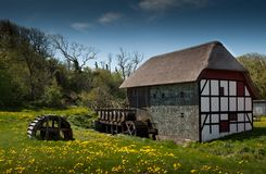 Watermill in Summertime Royalty Free Stock Images