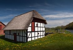 Watermill in Summertime Royalty Free Stock Image
