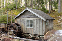 Watermill in Sweden Stock Images