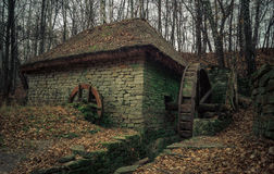 Watermill velho Fotos de Stock Royalty Free