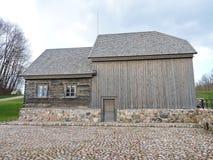 Watermill velho do solar de Bijotai, Lituânia Fotografia de Stock Royalty Free