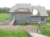 Watermill velho do solar de Bijotai, Lituânia Fotos de Stock Royalty Free