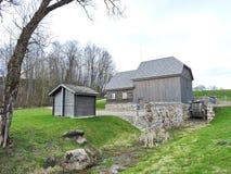Watermill velho do solar de Bijotai, Lituânia Fotos de Stock