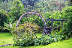 Watermill viejo en Colombia Fotos de archivo libres de regalías