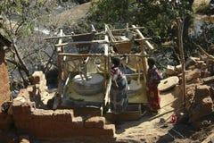 Watermill w Angola Zdjęcie Royalty Free